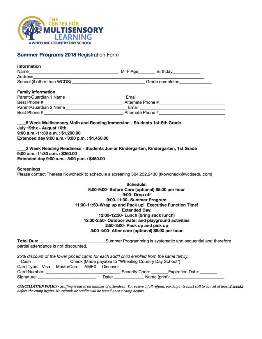 Summer Program CML 2018 Registration.docx (1)