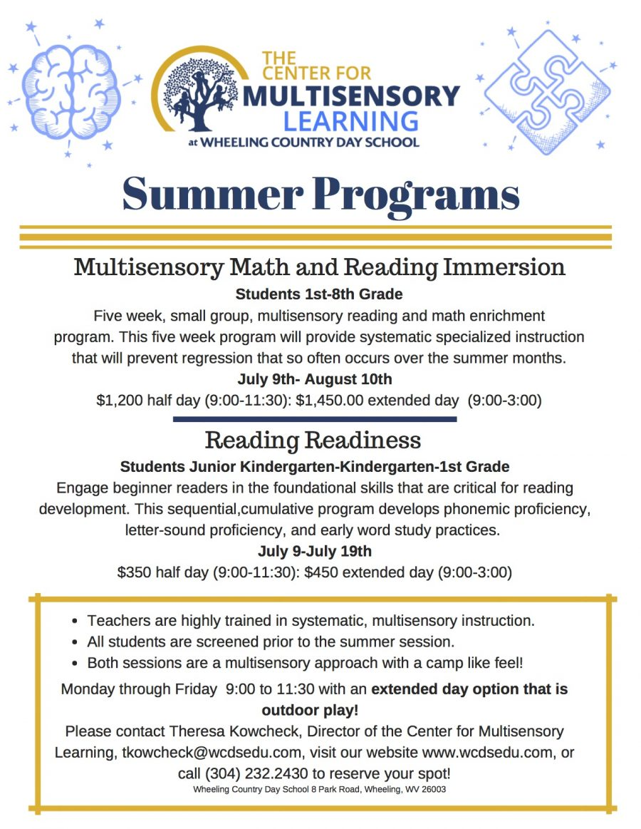 Summer Programs updated
